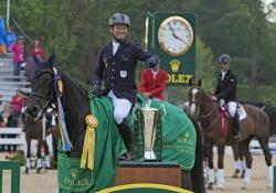 Jung Wins Second Consecutive Rolex Kentucky Three-Day Event