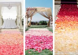 Wedding Trends: Ombré Aisles