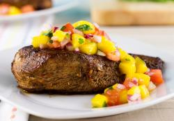 Skinny Mom: Caribbean Jerk Chicken with Mango Salsa