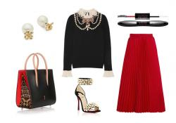 Outfit of the Week: Well Red