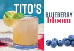 Recipe - Tito's Blueberry Bloom
