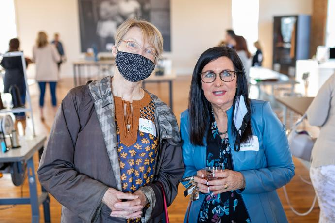 Women Who Wine for a Cause